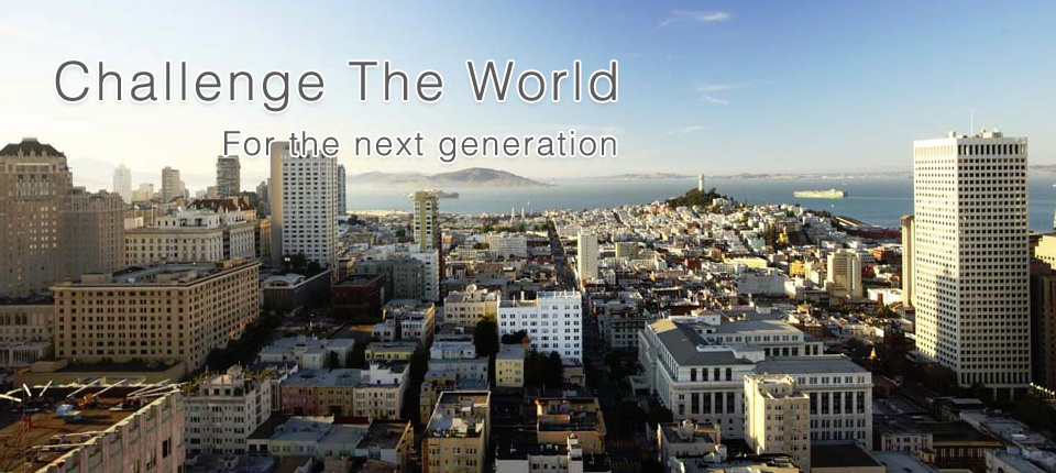 Challenge The World For the next generation
